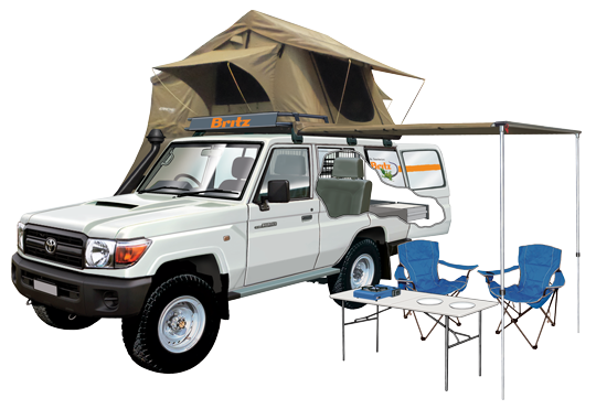 Safari Campervan Hire
